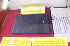 Nguyen dynasty's woodblocks on Hoang Sa, Truong Sa sovereignty displayed
