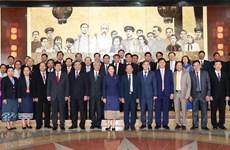 Lao NA Chairwoman Pany Yathotu welcomed in Son La
