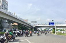 Flyover leading to HCM City airport completed 2 months early