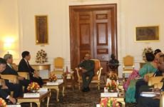 Deputy PM Pham Binh Minh meets Indian President