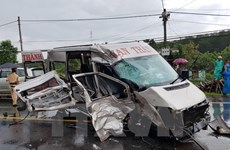 Fewer traffic accidents, victims reported in first half