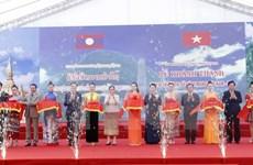 Vietnam-Laos historical relic site inaugurated