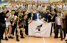 Sarmayeh Bank win Asian volleyball championship title