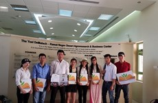 Vietnamese students graduated from agricultural courses in Israel