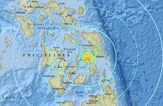 5.9-magnitude quake shakes central Philippine island
