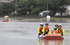 Deputy PM sends sympathy to Japan over torrential rains