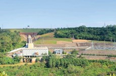 Expanded Thac Mo hydropower plant connects to national grid