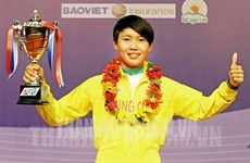 Nguyen Thi That wins national women's open cycling tournament