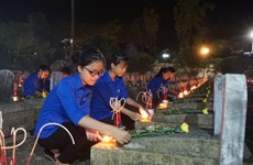 Fallen Vietnamese soldiers in Laos commemorated