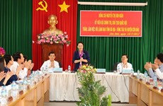 NA Chairwoman visits Con Dao ahead of Martyrs' Day