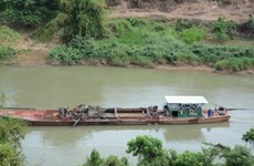 Landslide havoc prompts ban on sand mining in Dong Nai River