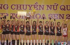 Japanese students team wins VTV Cup