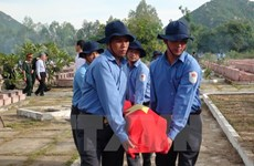 Memorial services for soldier remains repatriated from Cambodia