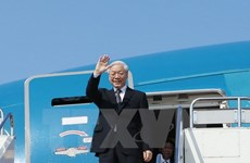 Party leader leaves for State visit to Cambodia