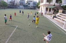 Community football project gets AFC Awards
