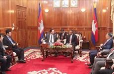 Vietnam, Cambodia build peaceful border line