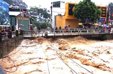 Ha Giang: torrential rains kill one, causes property losses