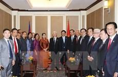 Party General Secretary leaves for Preah Sihanouk province