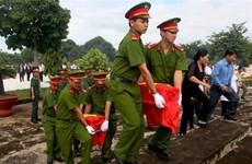 Burial service held for Vietnamese volunteer soldiers in Cambodia