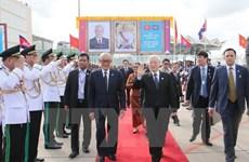 Party leader encourages Vietnam-Cambodia local-level cooperation