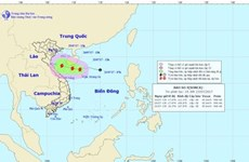 Tropical depression strengthens into fourth storm in East Sea
