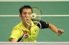 Badminton player loses in semi-finals of US Open