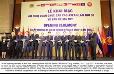 ASEAN Senior Officials' Meeting on Drug Matters opens in Hanoi