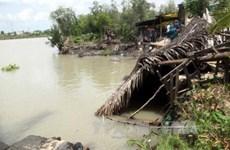 HCM City faces high risks of land erosion in rainy season