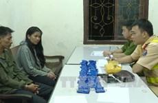 Moc Chau police arrest two for meth trafficking