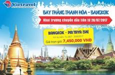 Vietravel launches Thanh Hoa-Bangkok air route