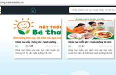 First e-child care training system inaugurated