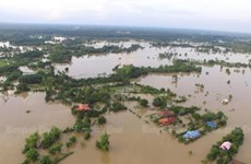 Tropical storm causes serious flooding in Thailand