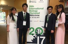 VN win gold, two silvers at Biology Olympiad