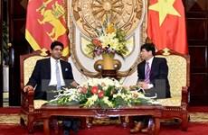 Vietnam, Sri Lanka to facilitate bilateral business activities