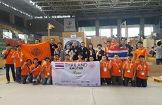 Thai students win two awards at World Robocup Rescue 2017