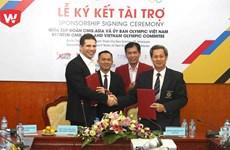 CMG.ASIA sponsors VN sport delegation at 29th SEA Games