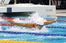 Vietnamese swimmer targets 8-10 golds at SEA Games