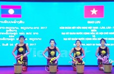 Art performance marks Vietnam-Laos diplomatic ties
