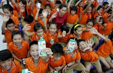 School milk programme improves nutrition of school children