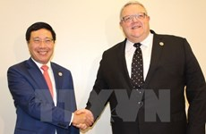 AMM 50: FM Pham Binh Minh in bilateral meetings