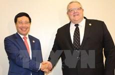 AMM 50: FM Pham Binh Minh in bilateral meetings