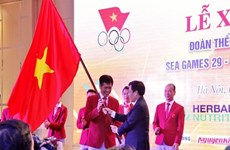Athletes sent off for SEA Games glory
