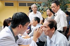 Nearly 470,000 people get free medical check-ups