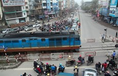 Hanoi police propose moving rail tracks out of inner city
