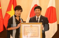 Vietnam's Friendship Order presented to Japanese film director