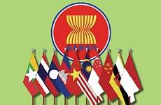 Flag-raising ceremony in Cambodia marks ASEAN's birthday