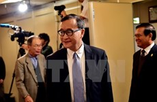 Cambodian court upholds sentence for Sam Rainsy