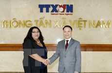 Vietnam, Mongolia news agencies renew cooperation deal