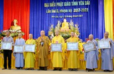 Yen Bai's Buddhist Sangha builds national great unity