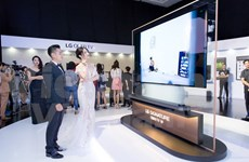 LG rolls out thinnest-ever TV panel in Vietnam